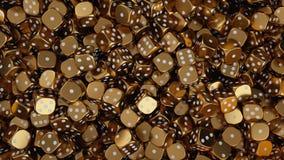Τυχερός χρυσός χωρίζει σε τετράγωνα διανυσματική απεικόνιση