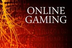 τυχερό παιχνίδι on-line Στοκ φωτογραφία με δικαίωμα ελεύθερης χρήσης