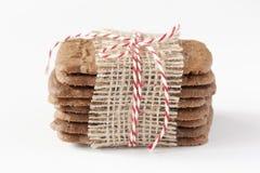 Τυλιγμένα μπισκότα Στοκ εικόνες με δικαίωμα ελεύθερης χρήσης