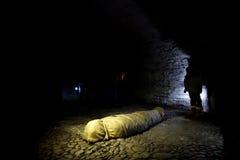 Τυλιγμένο πτώμα Στοκ εικόνα με δικαίωμα ελεύθερης χρήσης