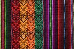 των Άνδεων τάπητας παραδοσιακός Στοκ φωτογραφία με δικαίωμα ελεύθερης χρήσης