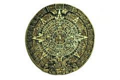 των Αζτέκων ημερολόγιο Στοκ Εικόνες