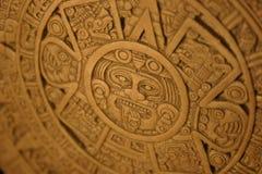 των Αζτέκων ημερολόγιο Στοκ εικόνες με δικαίωμα ελεύθερης χρήσης