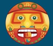 των Αζτέκων ημερολόγιο διανυσματική απεικόνιση