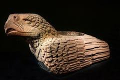 Των Αζτέκων πέτρινο άγαλμα Templo αετών δήμαρχος Mexico-city Mexico στοκ εικόνες με δικαίωμα ελεύθερης χρήσης