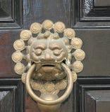 Των Αζτέκων πόρτα ύφους knockrr Στοκ φωτογραφία με δικαίωμα ελεύθερης χρήσης