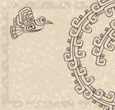 Των Αζτέκων ύφος Στοκ φωτογραφία με δικαίωμα ελεύθερης χρήσης