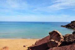 Των Βαλεαρίδων $νήσων άποψη νησιών Menorca Στοκ Εικόνες