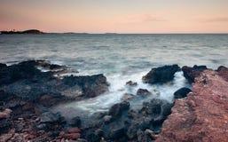 Των Βαλεαρίδων $νήσων θάλασσα Ibiza Στοκ εικόνα με δικαίωμα ελεύθερης χρήσης