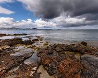 Των Βαλεαρίδων $νήσων θάλασσα Ibiza Στοκ φωτογραφία με δικαίωμα ελεύθερης χρήσης