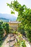 Των Βαλεαρίδων $νήσων patio σπιτιών Majorca στις Βαλεαρίδες Νήσους Στοκ φωτογραφία με δικαίωμα ελεύθερης χρήσης