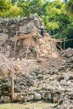 Των Μάγια αναδημιουργία πυραμίδων Στοκ φωτογραφία με δικαίωμα ελεύθερης χρήσης