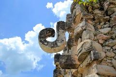 Των Μάγια καταστροφές Kabah στη διαδρομή Puuc, Yucatan Στοκ Φωτογραφίες