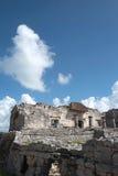 Των Μάγια καταστροφή Tulum, Μεξικό Στοκ εικόνες με δικαίωμα ελεύθερης χρήσης