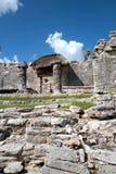 Των Μάγια καταστροφή Tulum, Μεξικό Στοκ φωτογραφίες με δικαίωμα ελεύθερης χρήσης