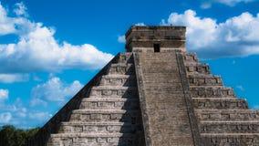 Των Μάγια ναός Itza Chichen στοκ φωτογραφία με δικαίωμα ελεύθερης χρήσης