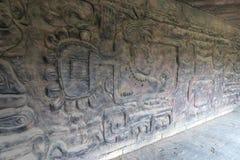 Των Μάγια πολιτισμός και ινδική φυλή στη γωνία mexi-α του parkco Στοκ Φωτογραφία