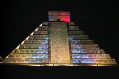 Των Μάγια πυραμίδα Kukulcan EL Castillo σε Chichen Itza Στοκ φωτογραφία με δικαίωμα ελεύθερης χρήσης