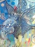 Των Μάγια σύμβολο πουλιών Στοκ Εικόνα