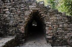 Των Μάγια τόξο επί του τόπου Archeaological Coba, Μεξικό Στοκ Εικόνα