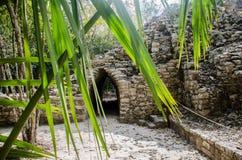 Των Μάγια τόξο επί του τόπου Archeaological Coba, Μεξικό Στοκ φωτογραφία με δικαίωμα ελεύθερης χρήσης