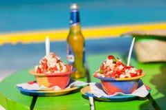 Των Μπαχάμας σαλάτα conch Στοκ Εικόνα