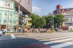 Τόκιο, Ιαπωνία - 24 Ιουλίου 2018: Omotesando Tokyu Plaza σε Haraju στοκ εικόνα με δικαίωμα ελεύθερης χρήσης