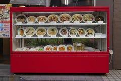Τόκιο, Ιαπωνία - 11 Μαΐου 2017: Επίδειξη των τροφίμων υπαίθρια ι αντιγράφου Στοκ εικόνες με δικαίωμα ελεύθερης χρήσης