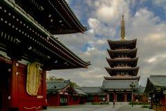 Τόκιο, Ιαπωνία - 28 Οκτωβρίου 2018 ναός Sensoji ή Asakusa Kannon Templ στοκ εικόνες