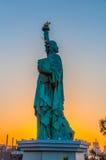 Τόκιο στο ηλιοβασίλεμα Στοκ Εικόνες