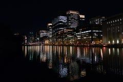 Τόκιο τή νύχτα Στοκ εικόνα με δικαίωμα ελεύθερης χρήσης