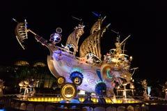 Τόκιο DisneySea στην Ιαπωνία Στοκ Φωτογραφίες