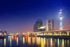Τόκιο Skytree & μπλε ουρανός Στοκ Εικόνες