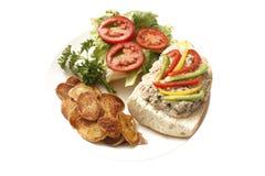 τόνος σάντουιτς σαλάτας Στοκ φωτογραφίες με δικαίωμα ελεύθερης χρήσης