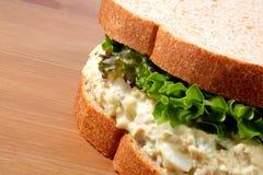 τόνος σάντουιτς σαλάτας &ps Στοκ εικόνα με δικαίωμα ελεύθερης χρήσης