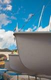 Τόξα των βαρκών Στοκ εικόνες με δικαίωμα ελεύθερης χρήσης