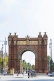 τόξο Βαρκελώνη de triomf Στοκ φωτογραφίες με δικαίωμα ελεύθερης χρήσης