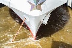 Τόξο ενός σκάφους πορθμείων Στοκ φωτογραφίες με δικαίωμα ελεύθερης χρήσης