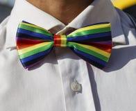 Τόξο-δεσμός LGBT στοκ εικόνες