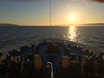 Τόξο σκαφών Στοκ εικόνες με δικαίωμα ελεύθερης χρήσης