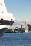 Τόξο του κρουαζιερόπλοιου Στοκ Εικόνες