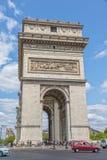τόξο de Παρίσι triomphe Στοκ Φωτογραφίες
