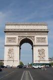 τόξο de Παρίσι triomphe Στοκ φωτογραφίες με δικαίωμα ελεύθερης χρήσης