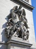 τόξο de Παρίσι trionphe Στοκ φωτογραφία με δικαίωμα ελεύθερης χρήσης