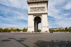 Τόξο de triomphe - Παρίσι - Γαλλία Στοκ φωτογραφία με δικαίωμα ελεύθερης χρήσης