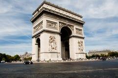 Τόξο de triomphe - Παρίσι - Γαλλία Στοκ εικόνες με δικαίωμα ελεύθερης χρήσης