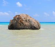 Τόπος γεννήσεως βράχου θάλασσας Aphrodite Στοκ Εικόνες