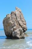 Τόπος γεννήσεως βράχου θάλασσας Aphrodite Στοκ φωτογραφία με δικαίωμα ελεύθερης χρήσης