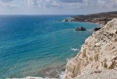 Τόπος γεννήσεως Aphrodite s της Κύπρου Στοκ Εικόνες