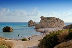 Τόπος γεννήσεως Aphrodite s της Κύπρου Στοκ φωτογραφία με δικαίωμα ελεύθερης χρήσης